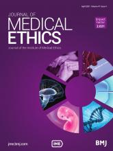 Journal of Medical Ethics: 47 (4)